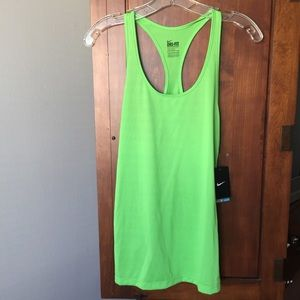 🎉Nike dry fit green tank top 🎉